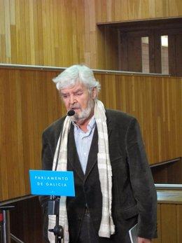Xosé Manuel Beiras tras el discurso de Investidura de Feijóo