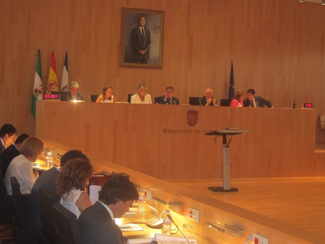 Pleno ordinario de Diputación