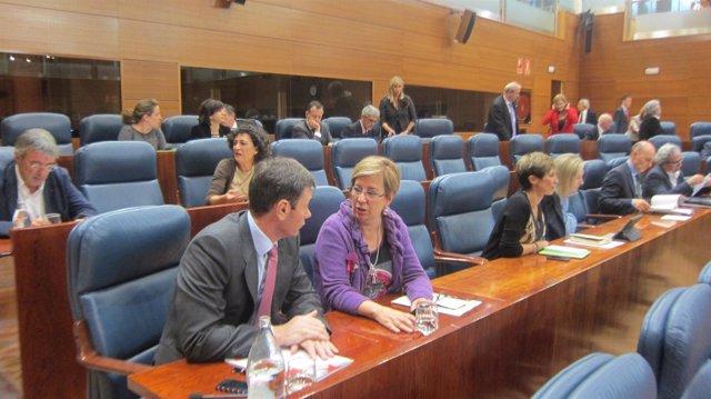 Tomás Gómez en el Pleno