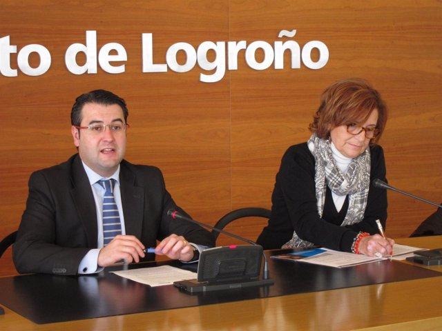 Merino y Fernández, en la rueda de prensa