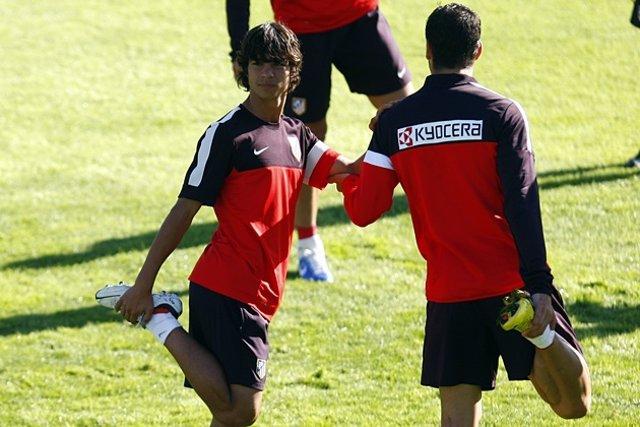 Oliver Torres Entrenamiento Atlético De Madrid
