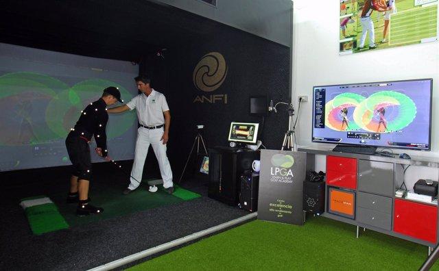 Escuela de golf en Anfi