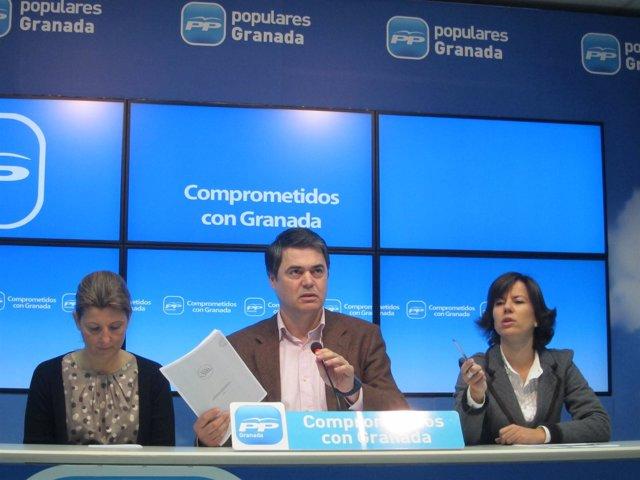 Carlos Rojas, portavoz del PP-A, en Granada