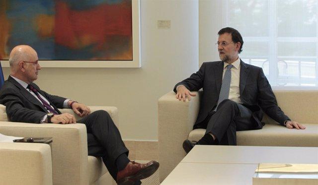 Rajoy Recibe A Duran En La Moncloa