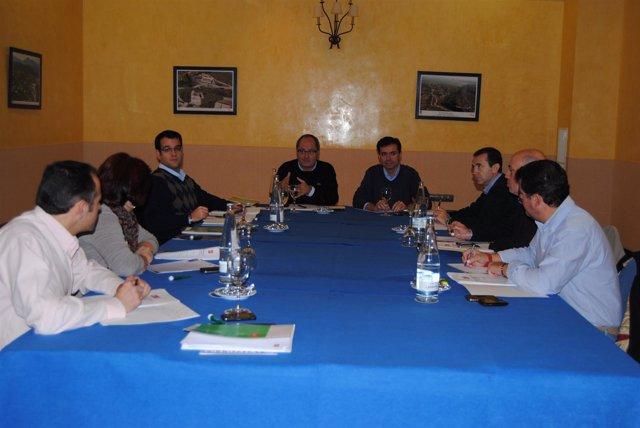 Reunión del PSOE-A en Antequera (Málaga)