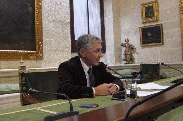 El concejal de Urbanismo del Ayuntamiento de Sevilla, Maximiliano Vílchez