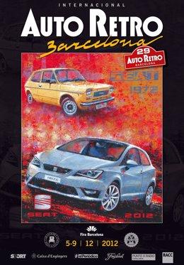 Cartel De La XXIX Edición De Auto Restro Barcelona