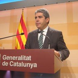 El portavoz en funciones del Govern, Francesc Homs