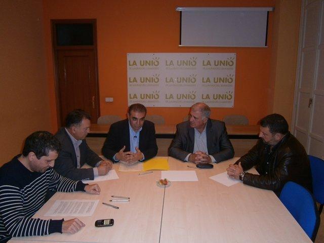 Pañella se reúne con La Unió