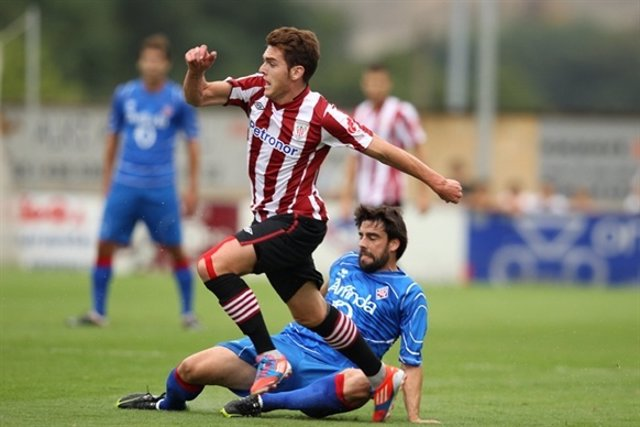 Athletic  Amorebieta amistoso