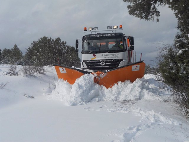 Nieve, Quitanieve, Frio, Temporal