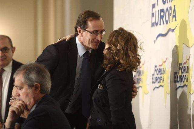 Alfonso Alonso Y Soraya Saénz De Santamaría