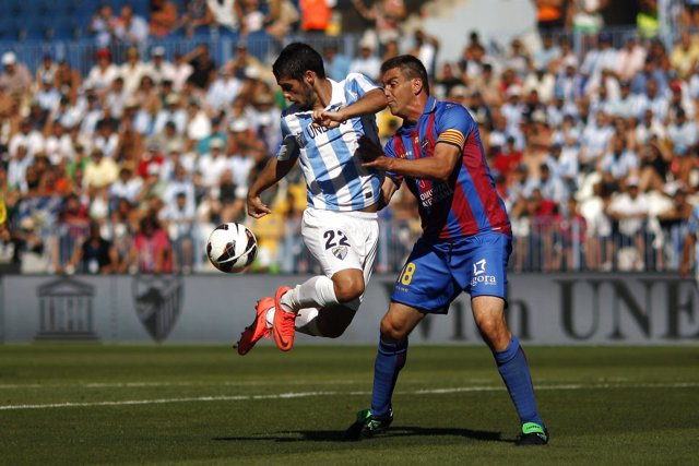 Isco Sergio Ballesteros Málaga Levante