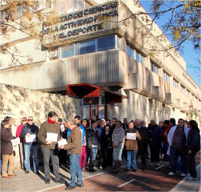 Paro técnico contra los recortes en la Universidad de Granada