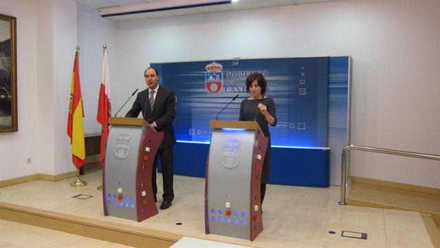 Ignacio Diego y Tatiana Alvarez Careaga, en rueda de prensa