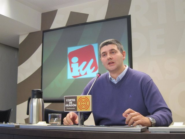 El portavoz parlamentario de Medio Ambiente de Izquierda Unida, Miguel Aso.
