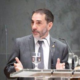 Helio Robleda, presidente de la Cámara de Comptos.