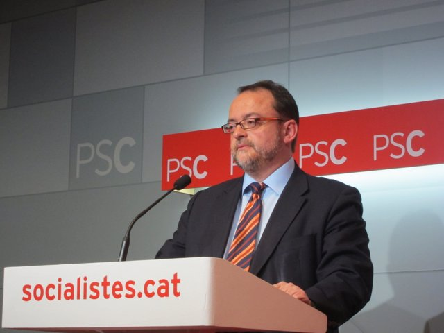 El secretario de Organización del PSC, Daniel Fernández