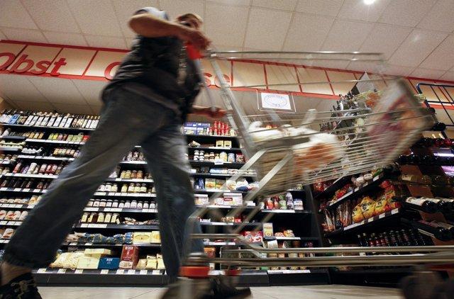 Supermercado en Alemania, consumidor alemán