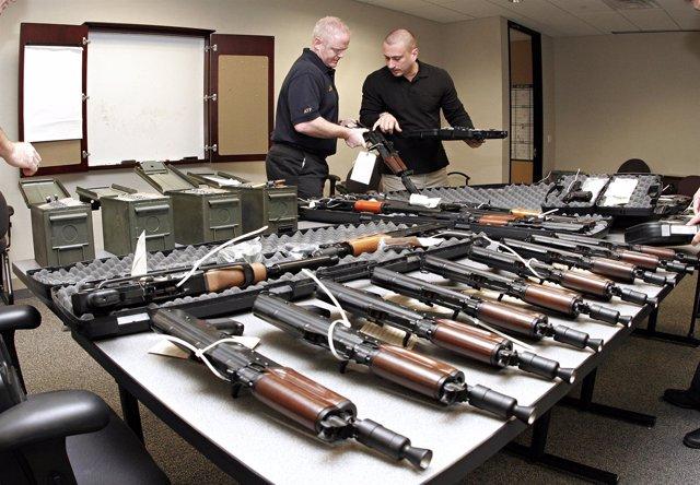 Armas Requisadas Por Estados Unidos En México
