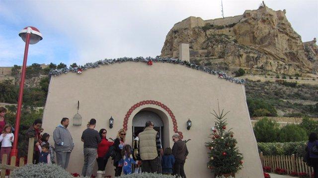 Casa de Santa Claus en Alicante