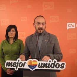 El portavoz de C's, Jordi Cañas