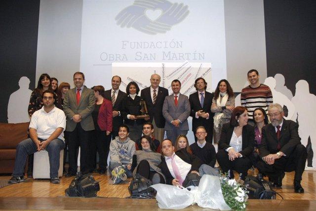 Entrega del premio Obra San Martín