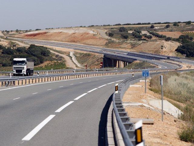 Autopista Ap-36 Ocaña-La Roda