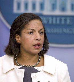 La embajadora de Estados Unidos en la ONU, Susan Rice