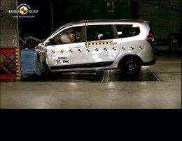 Prueba de choque del Dacia Lodgy