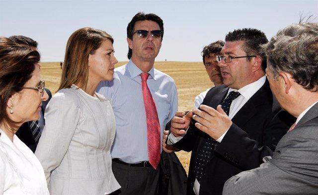 Cospedal, Soria y Sáiz