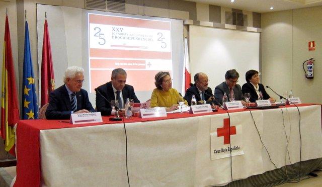 Inauguración del XXV Jornadas Nacionales de Drogodependencias de Cruz Roja
