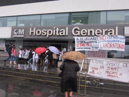 Madrid cifra el seguimiento de la huelga indefinida de médicos por la mañana en un 32,46%, un 3,83% menos que ayer