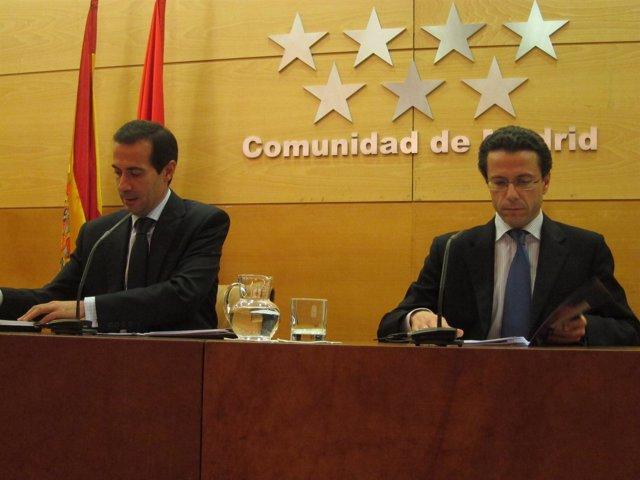 Victoria y Lasquetty durante la rueda del Consejo de Gobierno