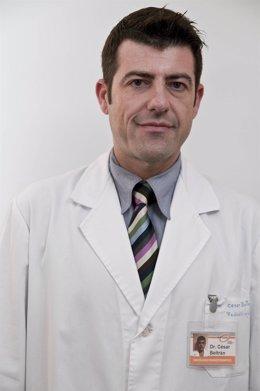 El doctor César Beltrán, del Grupo IMO, en una imagen de archivo