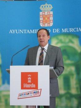 El concejal Joaquín Moya-Angeler
