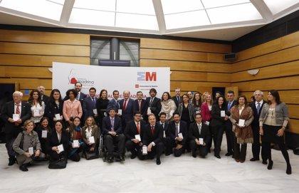 La Fundación Madrina premia a 14 entidades, entre ellas Europa Press, por su apoyo a la infancia y la maternidad