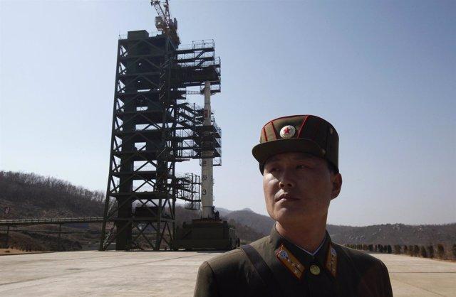 Satélite De Corea Del Norte