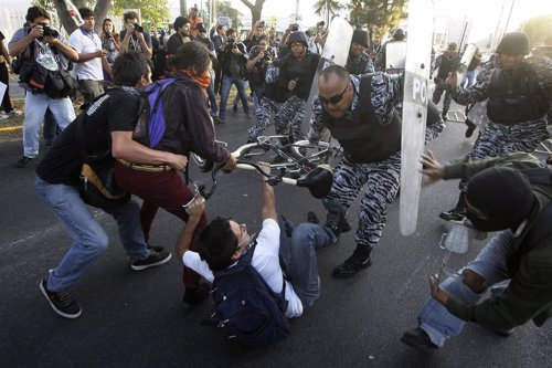 Protestas contra Peña nieto en México