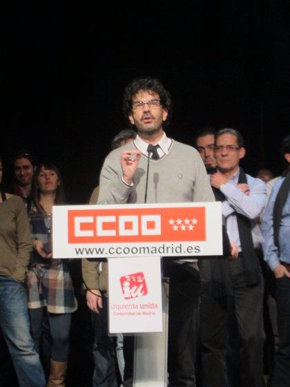 Eddy Sánchez, nuevo coordinador general de IU-CM en sustitución de Gregorio Gordo