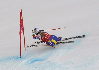 Vonn, imbatible en Lake Louise