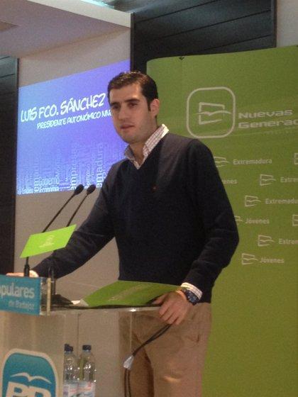 """NNGG Extremadura recuerda la importancia de los jóvenes para afrontar los """"grandes retos"""" económicos y sociales"""