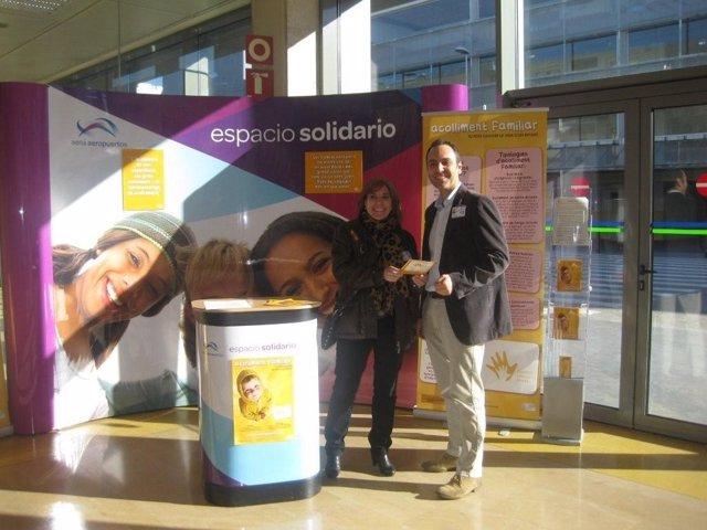 Espacio solidario del Aeropuerto de Girona