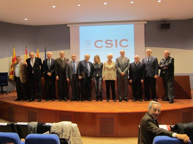 Acto de conmemoración del 70 aniversario del CSIC