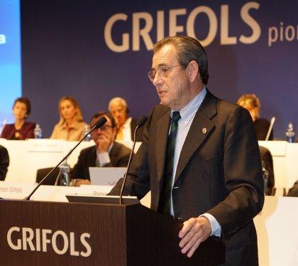 La junta de Grifols aprueba ampliar capital en 1,63 millones para remunerar al accionista