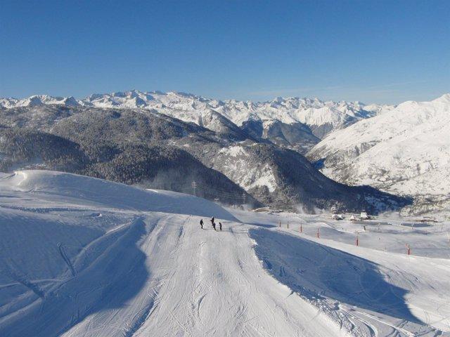 Estación de esquí Baqueira Beret diciembre 2012