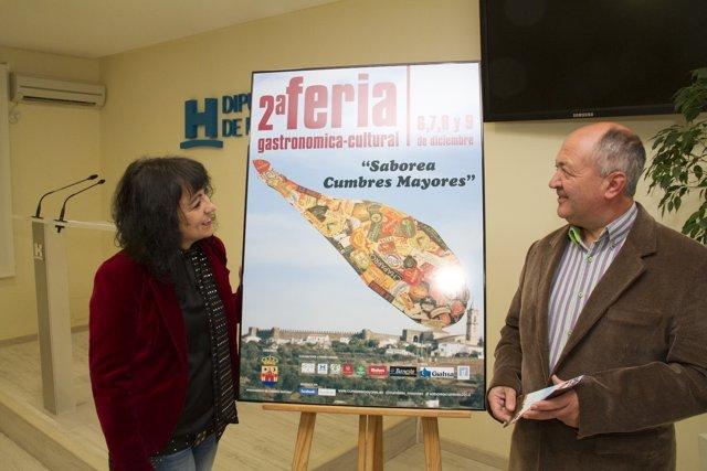 Presentación de la II Feria Gastronómica-Cultural de Cumbres Mayores.