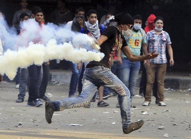 Manifestaciones en Egipto contra el decreto de Mursi
