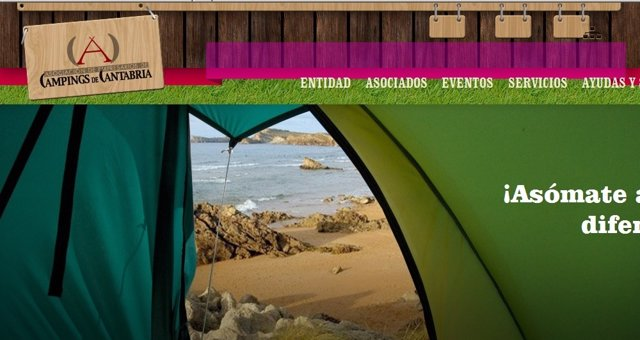 Web Campings De Cantabria