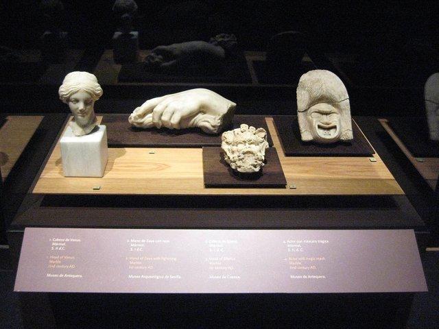 Exposición 'Pompeya. Catástrofe bajo el Vesubio'.